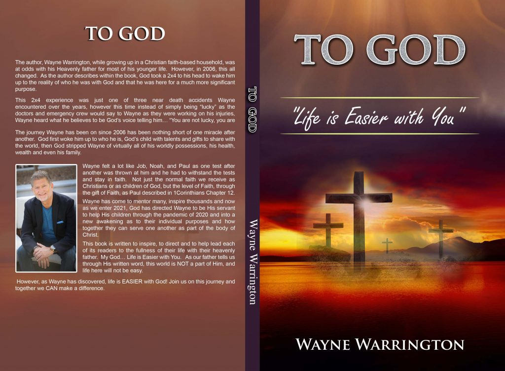 Being saved is truly a blessing in life. Being saved 3, 4 or 5 times is nothing short of a miracle.  Wayne Warrington inspires and mentors many of God's children through this inspiring life lessons.